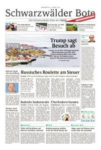 Schwarzwälder Bote Blumberg - 22. August 2019