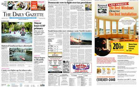 The Daily Gazette – September 13, 2017