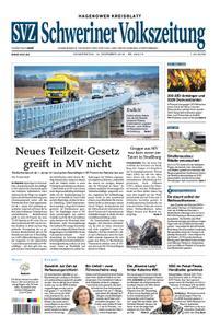 Schweriner Volkszeitung Hagenower Kreisblatt - 13. Dezember 2018