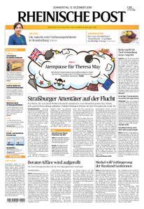 Rheinische Post – 13. Dezember 2018