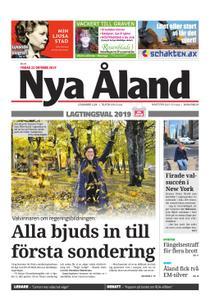 Nya Åland – 22 oktober 2019