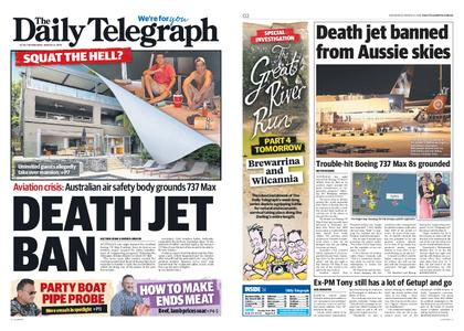 The Daily Telegraph (Sydney) – March 13, 2019