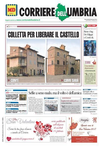 Corriere dell'Umbria - 8 Febbraio 2017