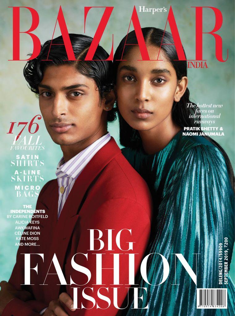 Harper's Bazaar India - September 2019