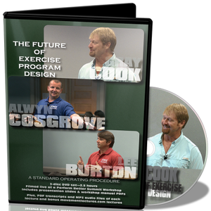 Gray Cook, Alwyn Cosgrove & Lee Burton: The Future of Exercise Program Design DVD