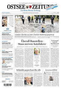 Ostsee Zeitung Wolgast - 15. September 2017