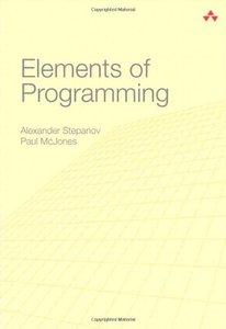 Elements of Programming (repost)