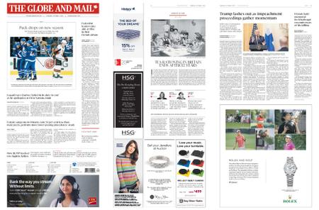 The Globe and Mail – October 03, 2019
