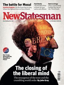 New Statesman - November 4 - 10 2016