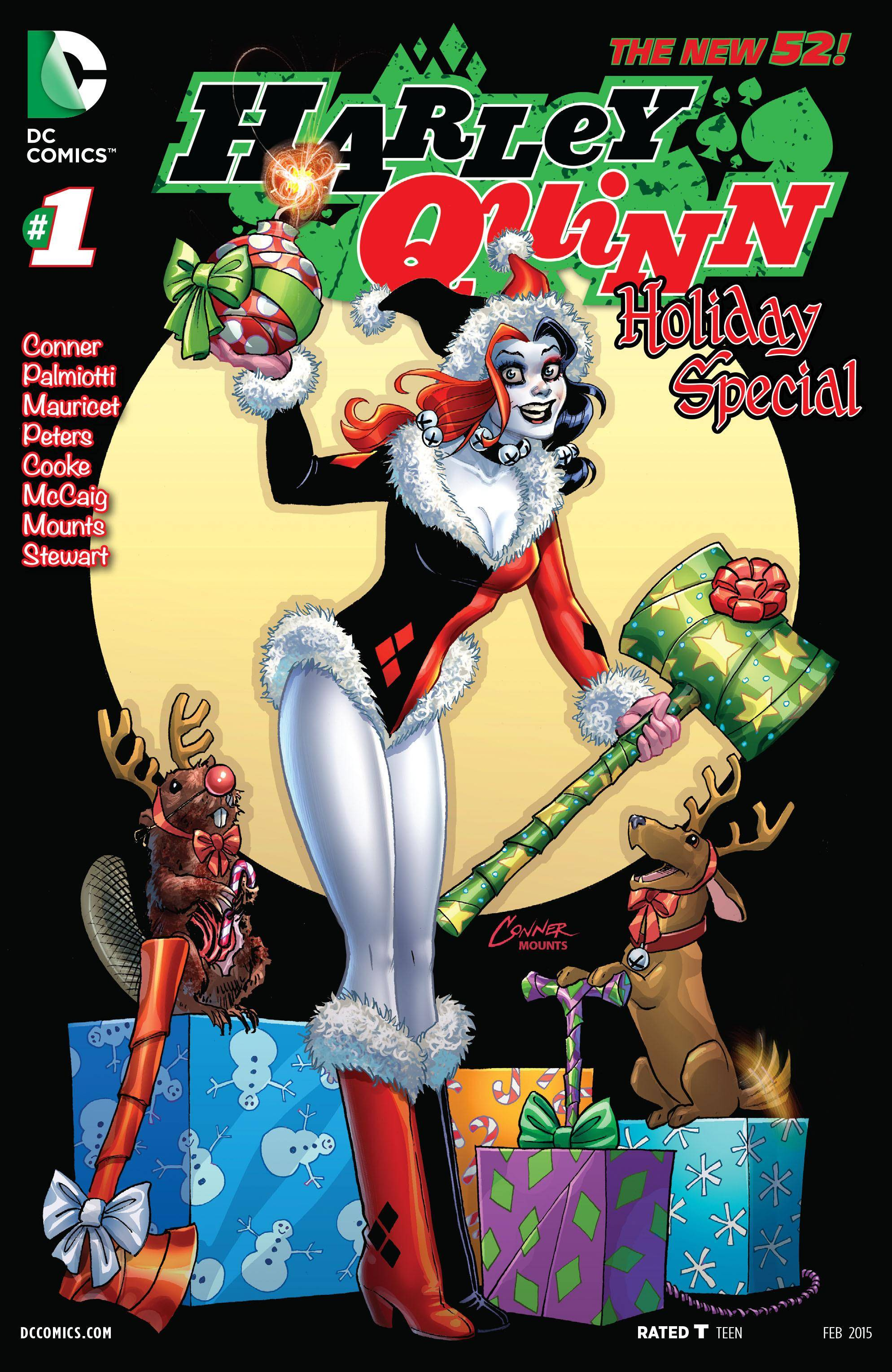 For PostalPops Harley Quinn Holiday Special 01 2015 Digital cbr