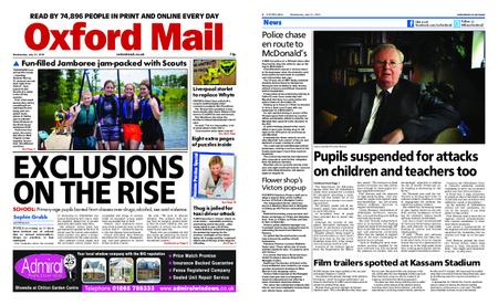 Oxford Mail – July 31, 2019
