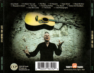 Tommy Emmanuel - It's Never Too Late (2015)
