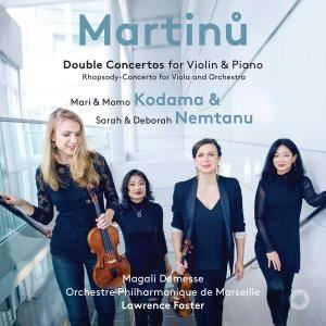 Mari Kodama, Momo Kodama, Sarah Nemtanu & Deborah Nemtanu - Martinů: Double Concertos (2018)