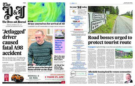 The Press and Journal Moray – September 19, 2018