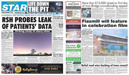Shropshire Star Shrewsbury Edition – November 14, 2017