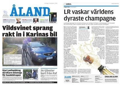 Ålandstidningen – 13 oktober 2018