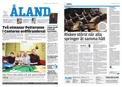 Ålandstidningen – 11 november 2017