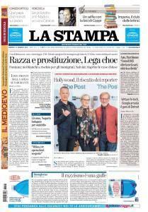 La Stampa Torino Provincia e Canavese - 16 Gennaio 2018
