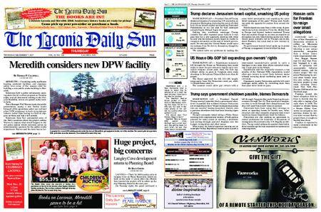The Laconia Daily Sun – December 07, 2017