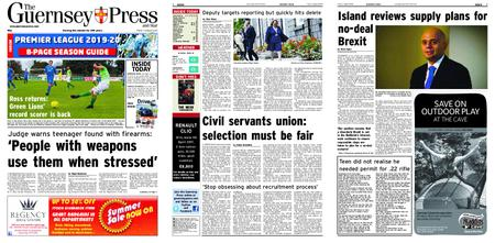 The Guernsey Press – 02 August 2019