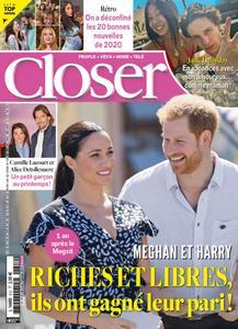 Closer France - 02 janvier 2021