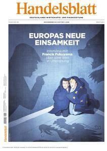Handelsblatt - 29. Dezember 2017