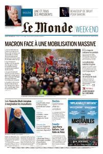 Le Monde du Samedi 7 Décembre 2019