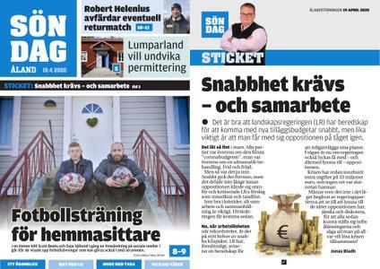 Ålandstidningen – 19 april 2020