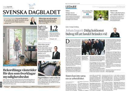 Svenska Dagbladet – 31 juli 2018