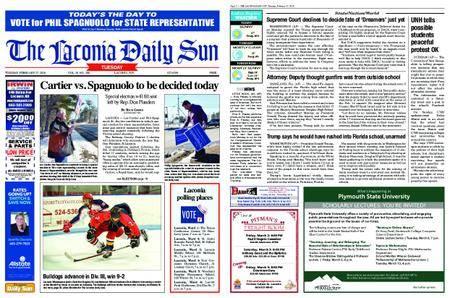 The Laconia Daily Sun – February 27, 2018