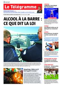 Le Télégramme Brest Abers Iroise – 06 août 2019