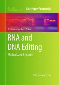 RNA and DNA Editing: Methods and Protocols