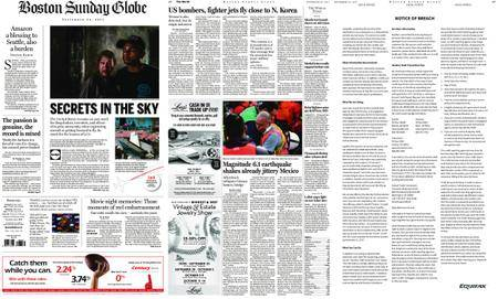 The Boston Globe – September 24, 2017