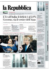 la Repubblica - 8 Novembre 2018
