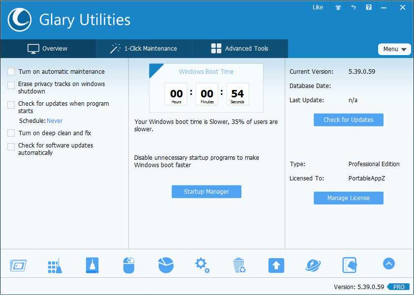 Glary Utilities Pro 5.94.0.116 Multilingual + Portable