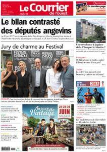 Le Courrier de l'Ouest Angers - 20 juin 2018