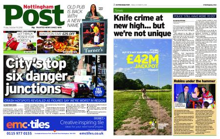 Nottingham Post – October 19, 2018