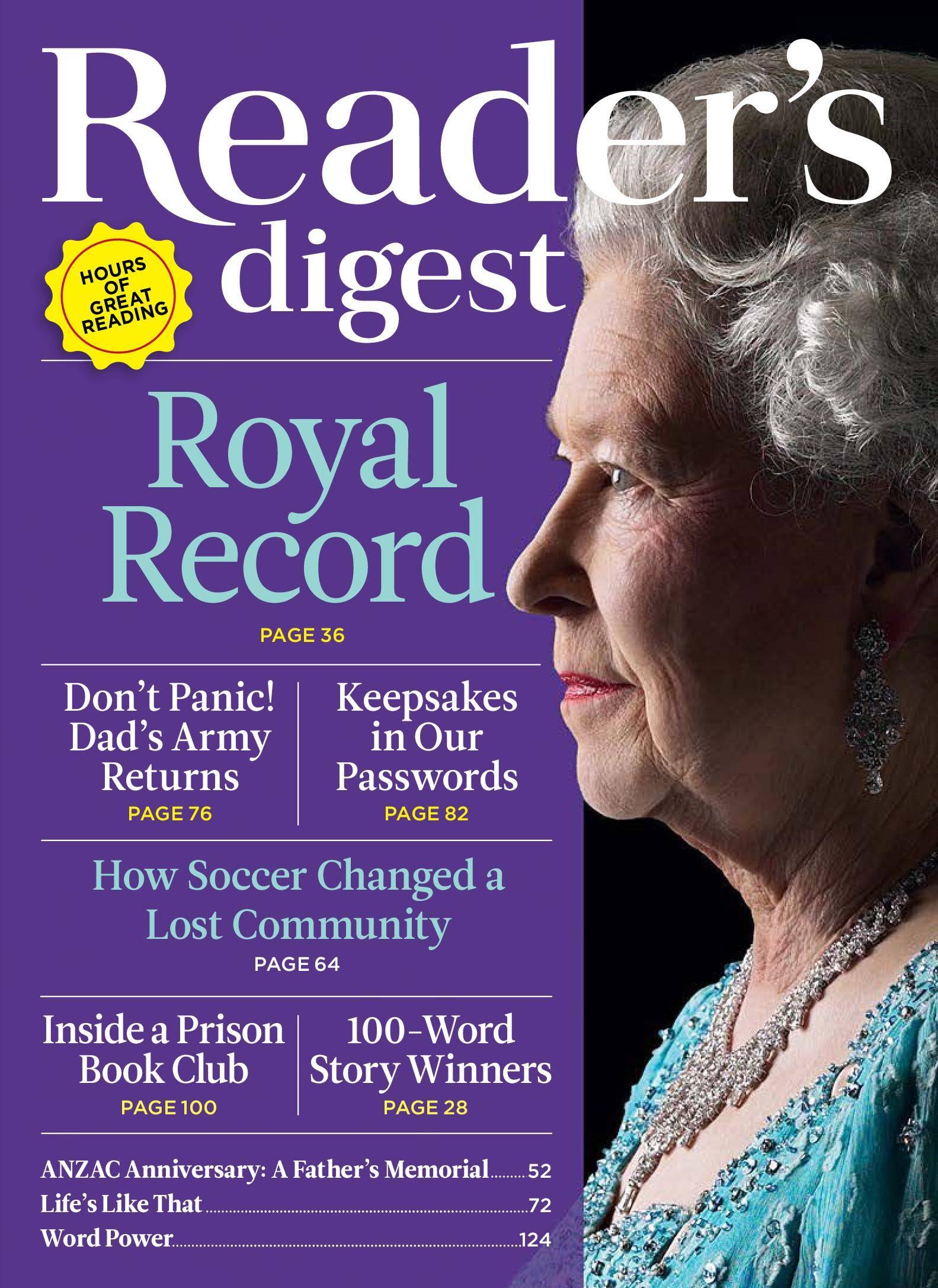 readers digest magzine 4 - HD1583×2173