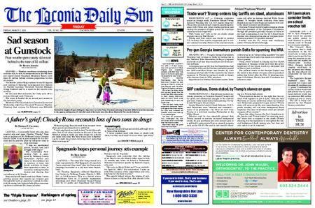 The Laconia Daily Sun – March 02, 2018