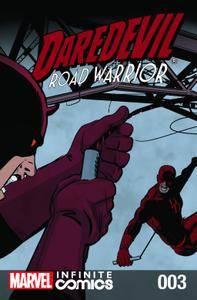 Daredevil - Road Warrior Infinite Comic 003 2014  cover digital