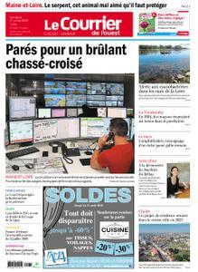 Le Courrier de l'Ouest Cholet – 31 juillet 2020