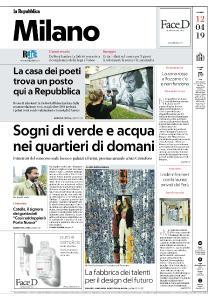 la Repubblica Milano - 12 Aprile 2019