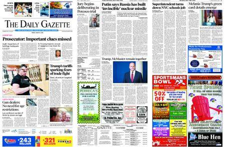 The Daily Gazette – March 02, 2018