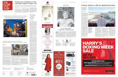 The Globe and Mail – December 26, 2018