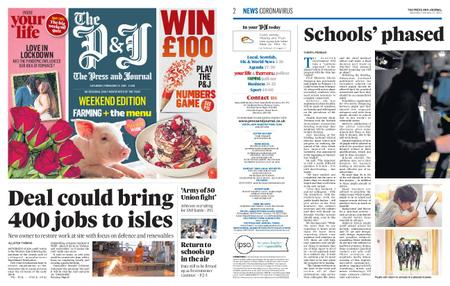 The Press and Journal Moray – February 13, 2021