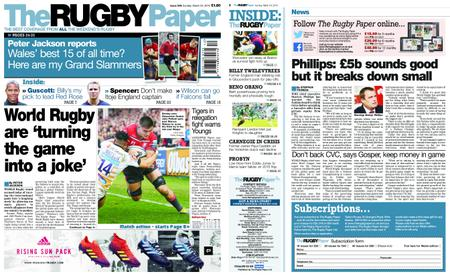 The Rugby Paper – March 24, 2019