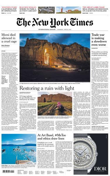 International New York Times - 20 June 2019