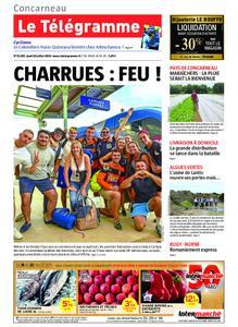 Le Télégramme Concarneau – 18 juillet 2019