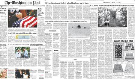 The Washington Post – September 01, 2018