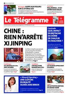 Le Télégramme Quimper – 13 août 2021